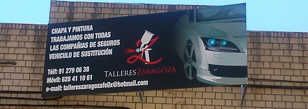 Talleres de chapa y pintura  en Valdemoro | Talleres Zaragoza
