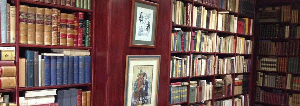 Compraventa de libros en el Eixample de Barcelona