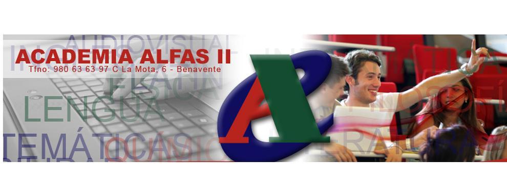 Academias y centros de estudios diversos en Benavente | Academia Alfas II