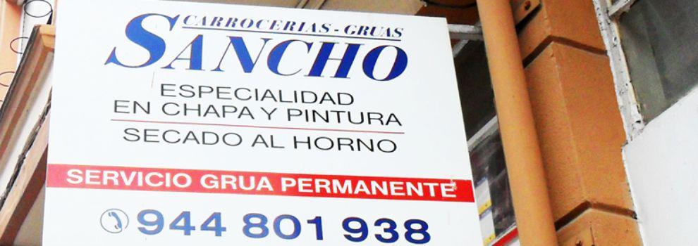 Chapa y pintura en Getxo - Carrocerías Sancho
