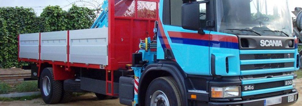 Transporte de mercancías en Mataró | Grúas y Trasportes Belmonte