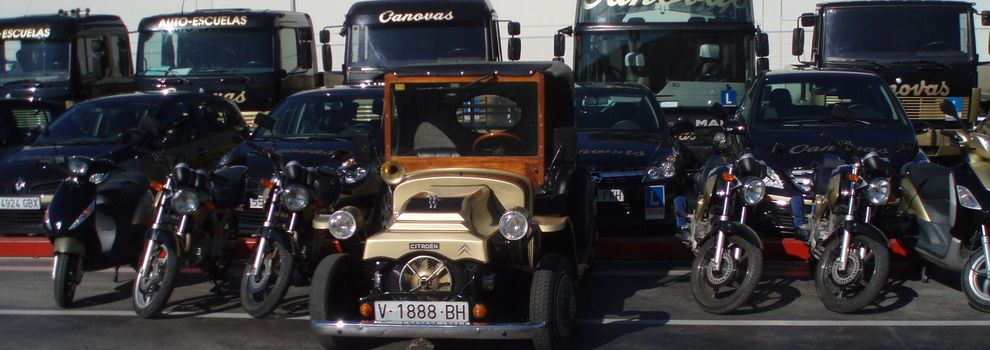 Cursos de mercancías peligrosas en Valencia | Autoescuela Cánovas