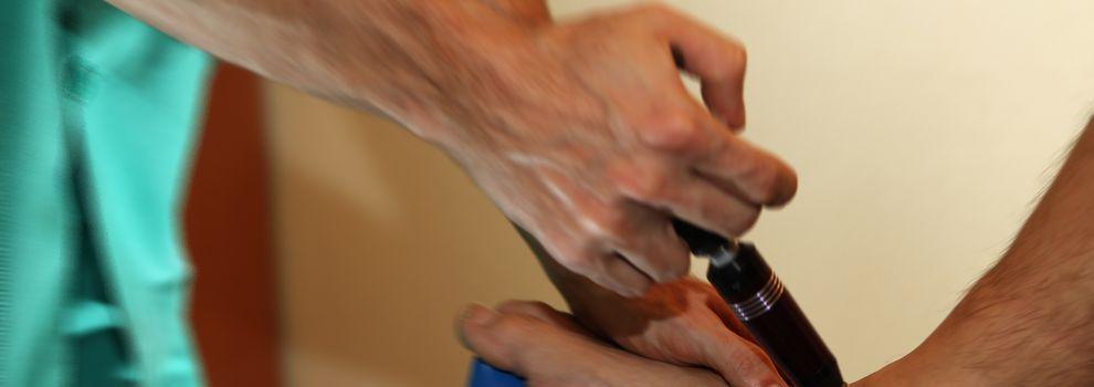 Ondas de choque fisioterapia Arganzuela Madrid