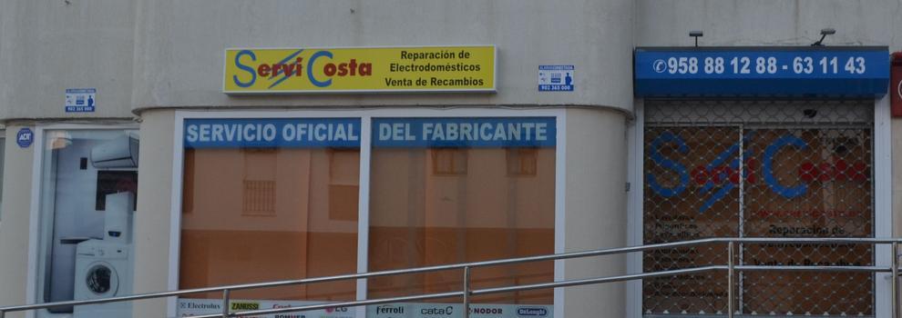 Reparación de electrodomésticos en Almuñécar | Servicosta