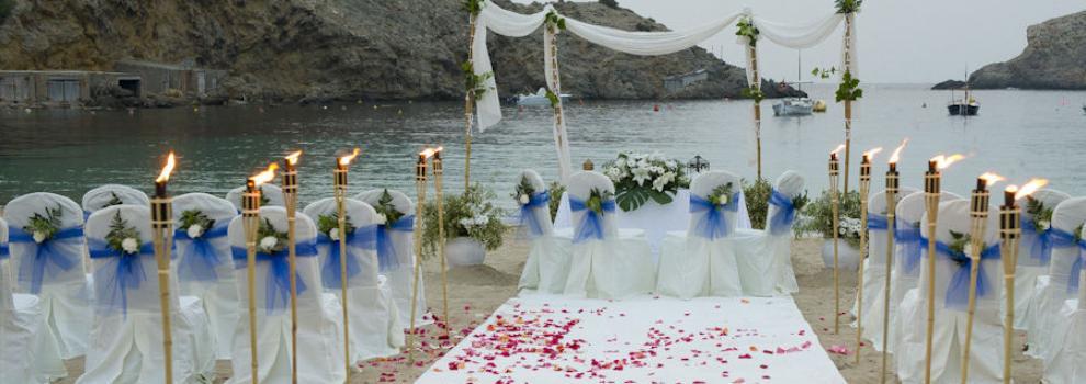 Sites for weddings Ibiza