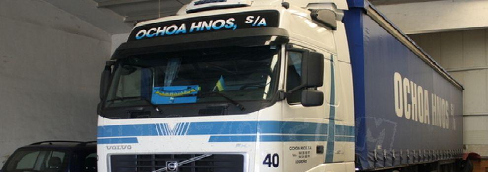 Transporte de mercancía en Logroño | Transportes Ochoa Hnos., S.A.