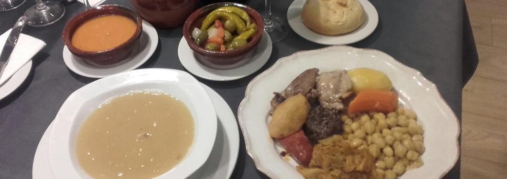 Restaurante de cocido madrileño en Madrid centro: En Barro Codido