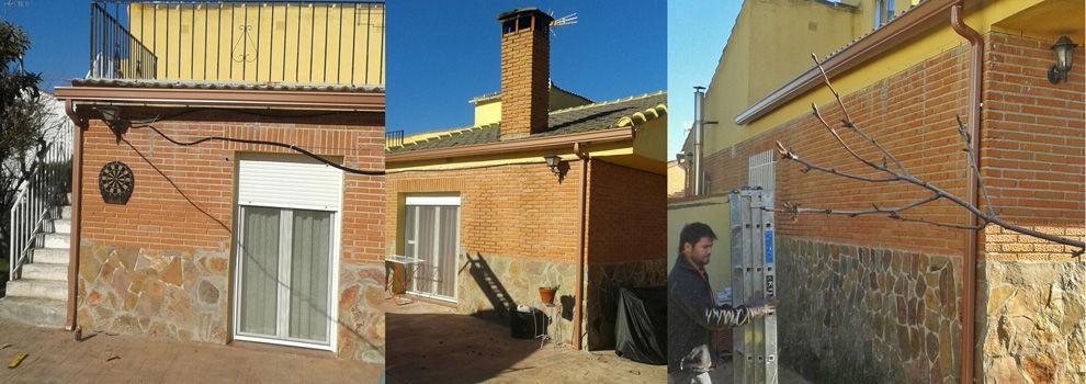 Instalaci n de canalones en ciudad real madrid y toledo - Instalacion de canalones ...