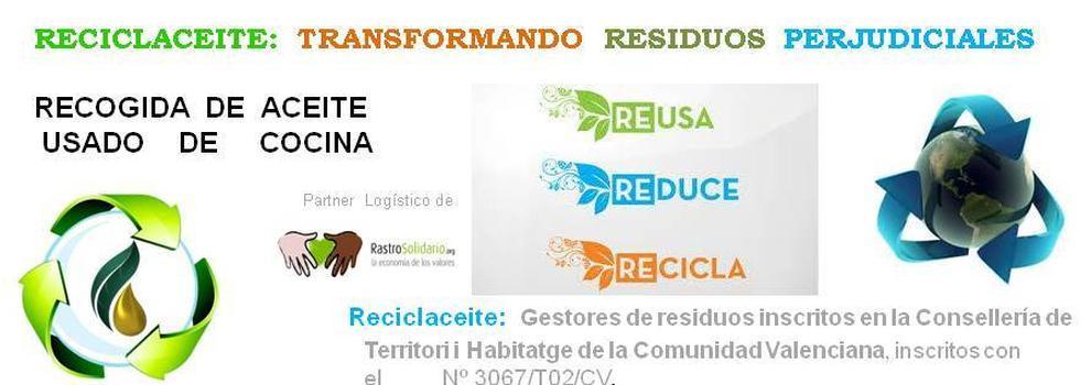 Recogida de aceite vegetal usado en murcia reciclaceite - Recogida de muebles a domicilio gratis en valencia ...