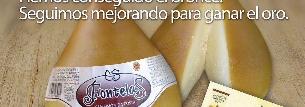 Quesos de vaca en Pontevedra