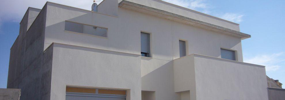 Planos viviendas familiares Alcázar de San Juan