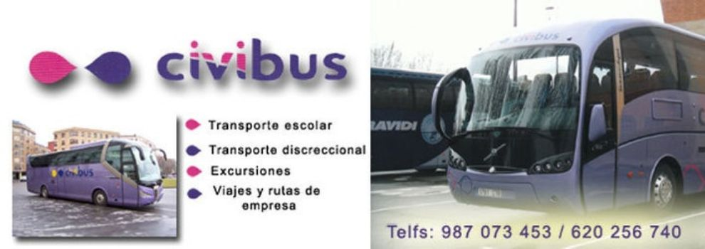 Vehicle rental with driver, Coaches in León | Autocares Civibus