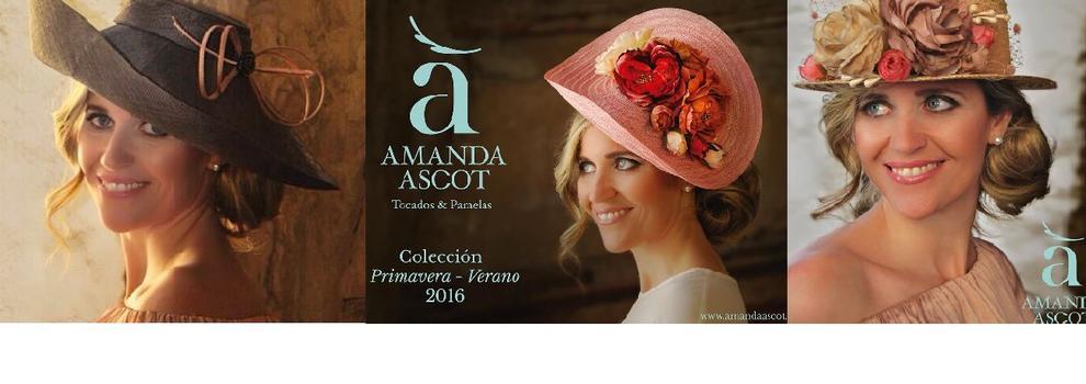 Tocados y pamelas en Valencia | Amanda Ascot