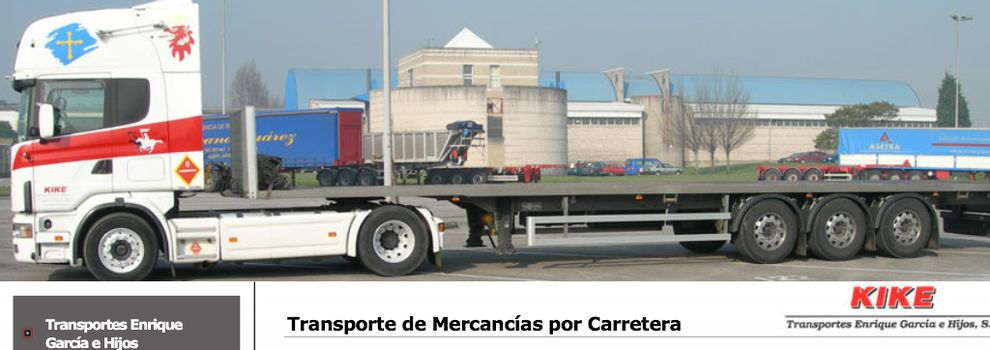 Goods transport in Tremañes - Gijón | Transportes Enrique García e Hijos, S.L.