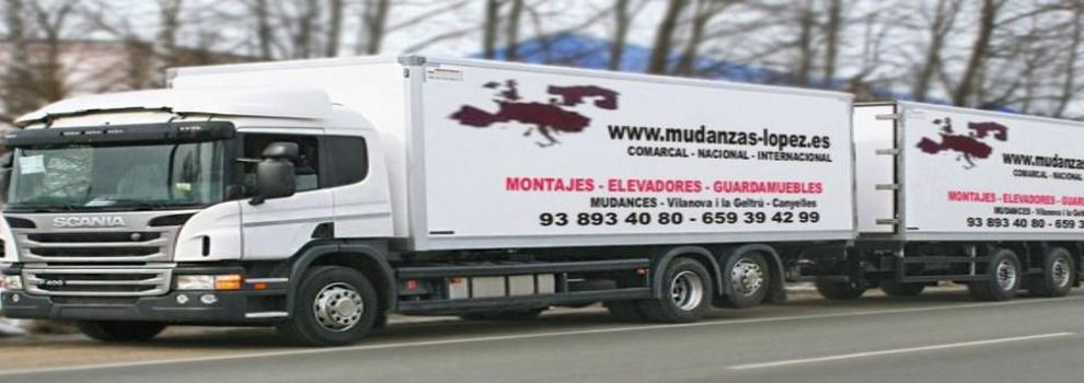Empresas de mudanzas de El Vendrell | Mudanzas López-Vilanova