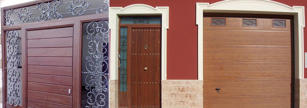 Para nuestra familia puertas de entrada sevilla - Puertas de madera en sevilla ...