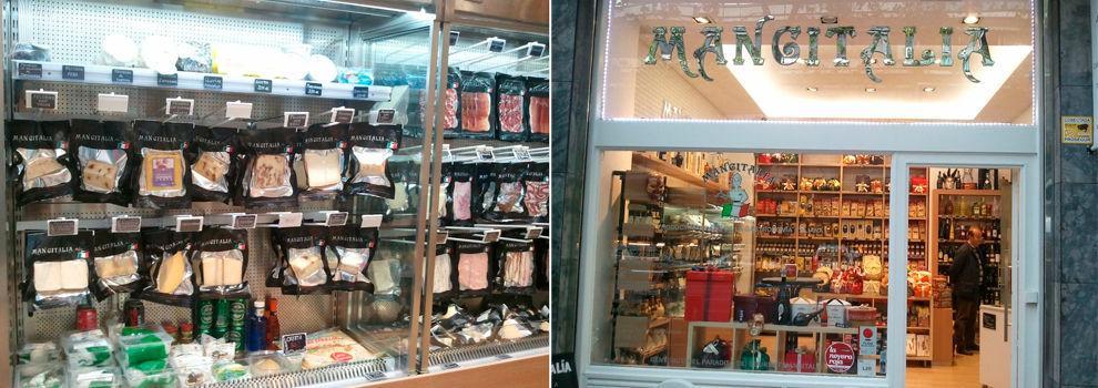 Venta de productos italianos en Madrid centro