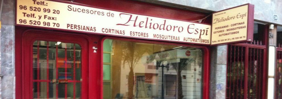 Venta de persianas en Alicante | Persianas Heliodoro Espí
