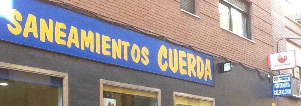 logotipo de SANEAMIENTOS CUERDA SL