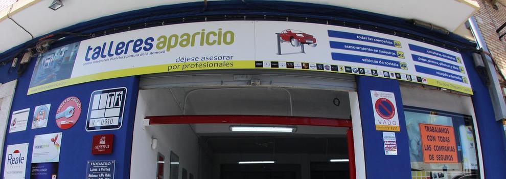 Taller de chapa y pintura en Valencia | Talleres Aparicio