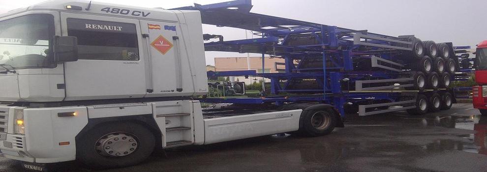 Transporte de semirremolques en Catarroja | Semitransport