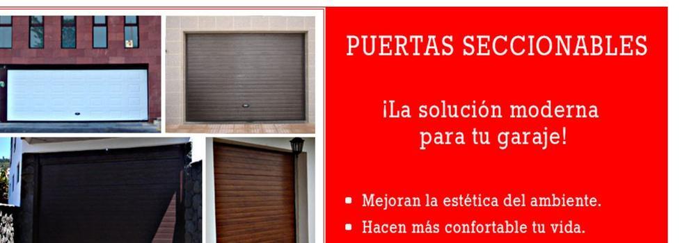 Puertas automaticas de garaje en Tenerife