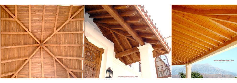 Pérgolas de madera en Málaga