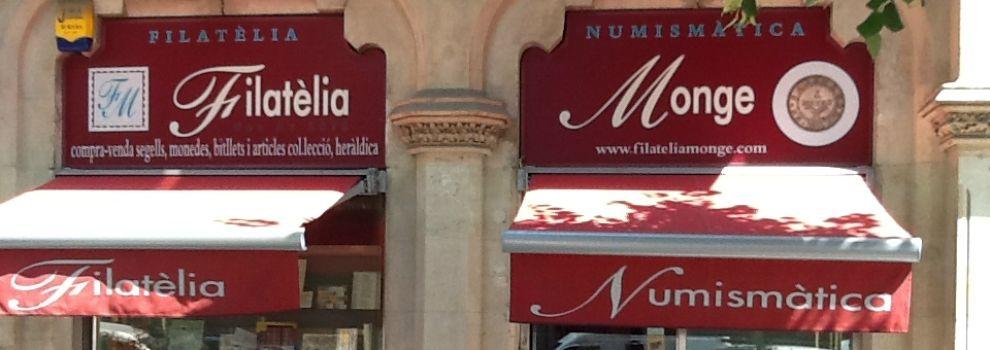 Compra de monedas antiguas en el Eixample, Barcelona | Filatelia Monge