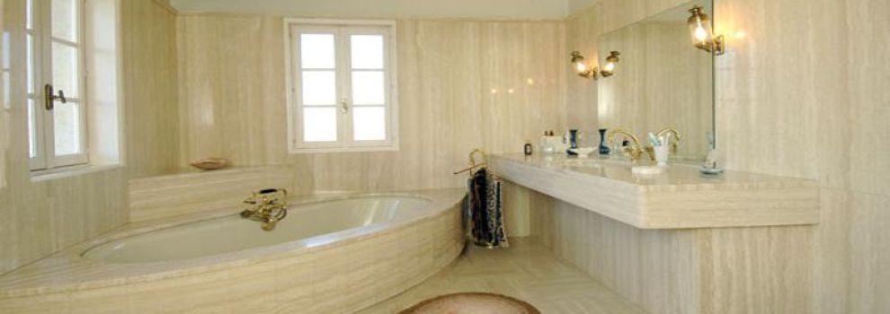 Ba os estilos m rmol en el ba o ventajas y desventajas for Colores de marmol para banos