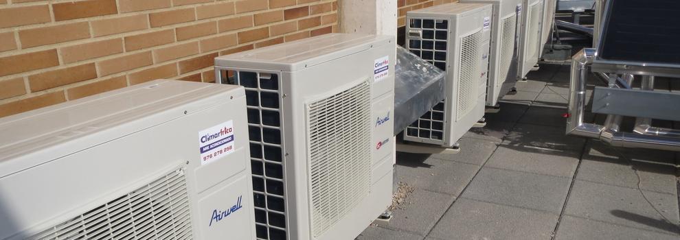 Mantenimiento de aire acondicionado en Zaragoza | Climarfrica