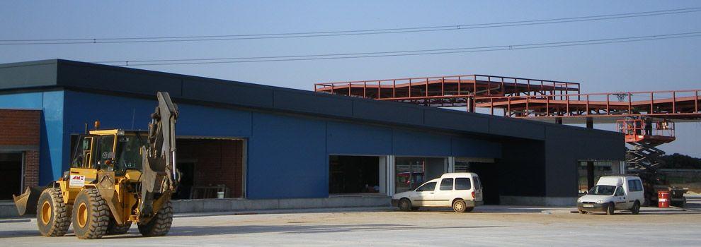 Construcción de naves industriales Valladolid