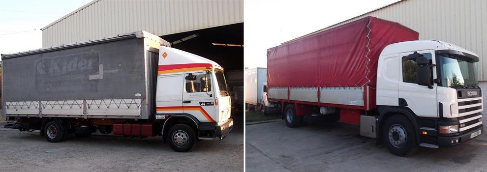 Transporte de mercancías por carretera en Sevilla