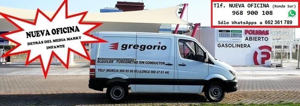 logotipo de ALQUILER FURGONETAS GREGORIO SL