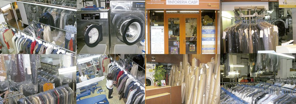 Drycleaners and laundries in Barcelona | Tintoreria Bugaderia Casp