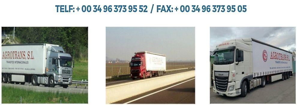 Empresas de transporte en valencia agrotrans for Empresas de transporte en tenerife