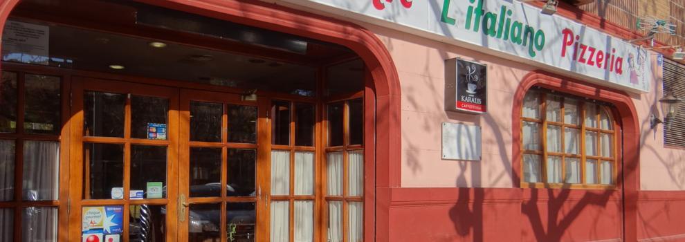 Restaurante italiano en Aldaia | L'ITALIANO