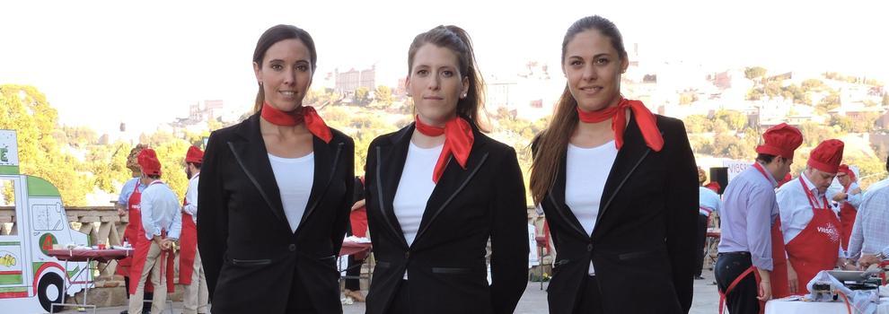 Azafatas de ferias y congresos en Madrid centro | Elegance Azafatas
