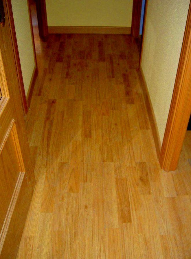 Colocaci n de suelo laminado tarima de madera o parquet for Suelo laminado de madera