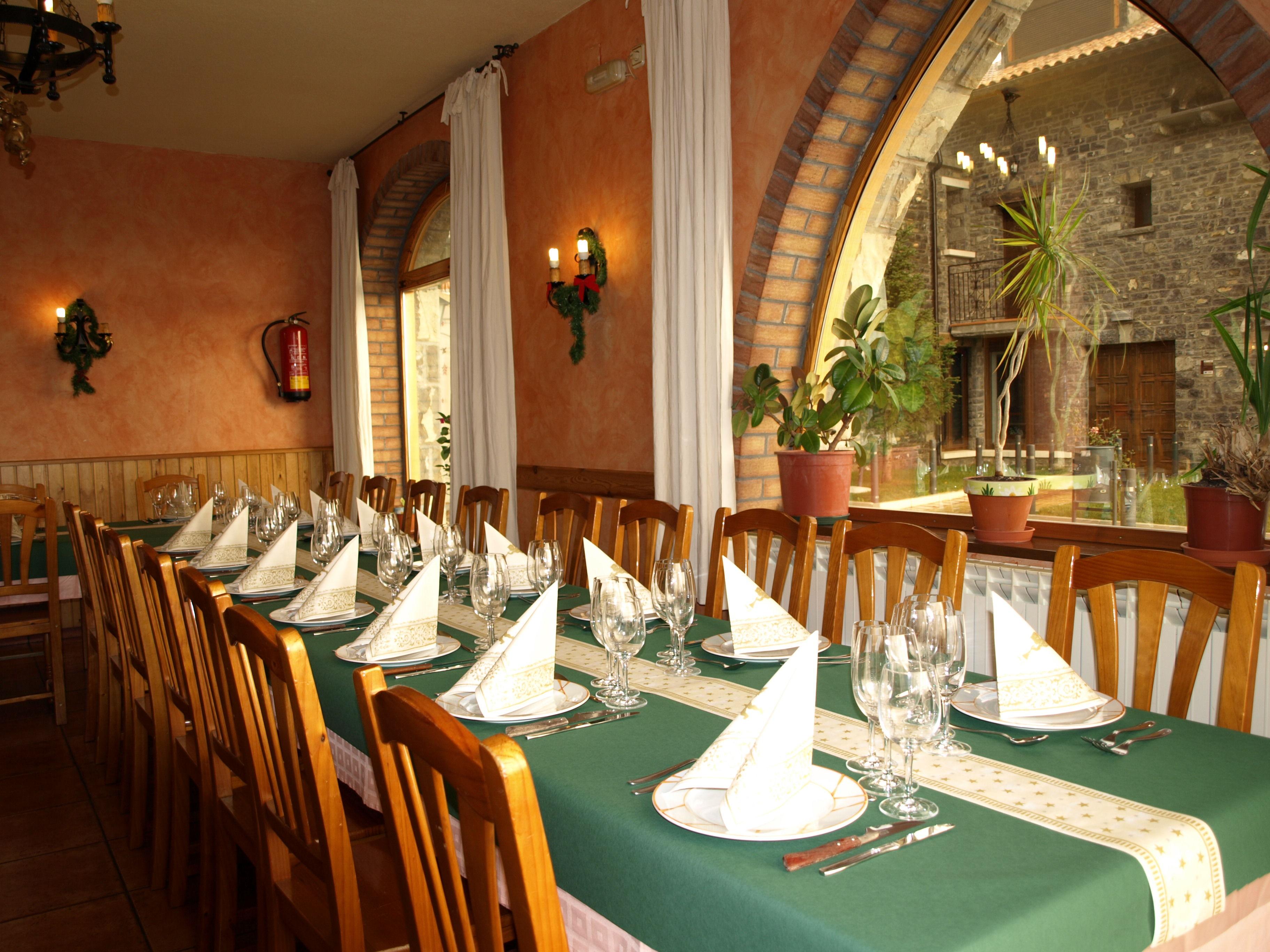 Restaurante para grupos Sabiñanigo