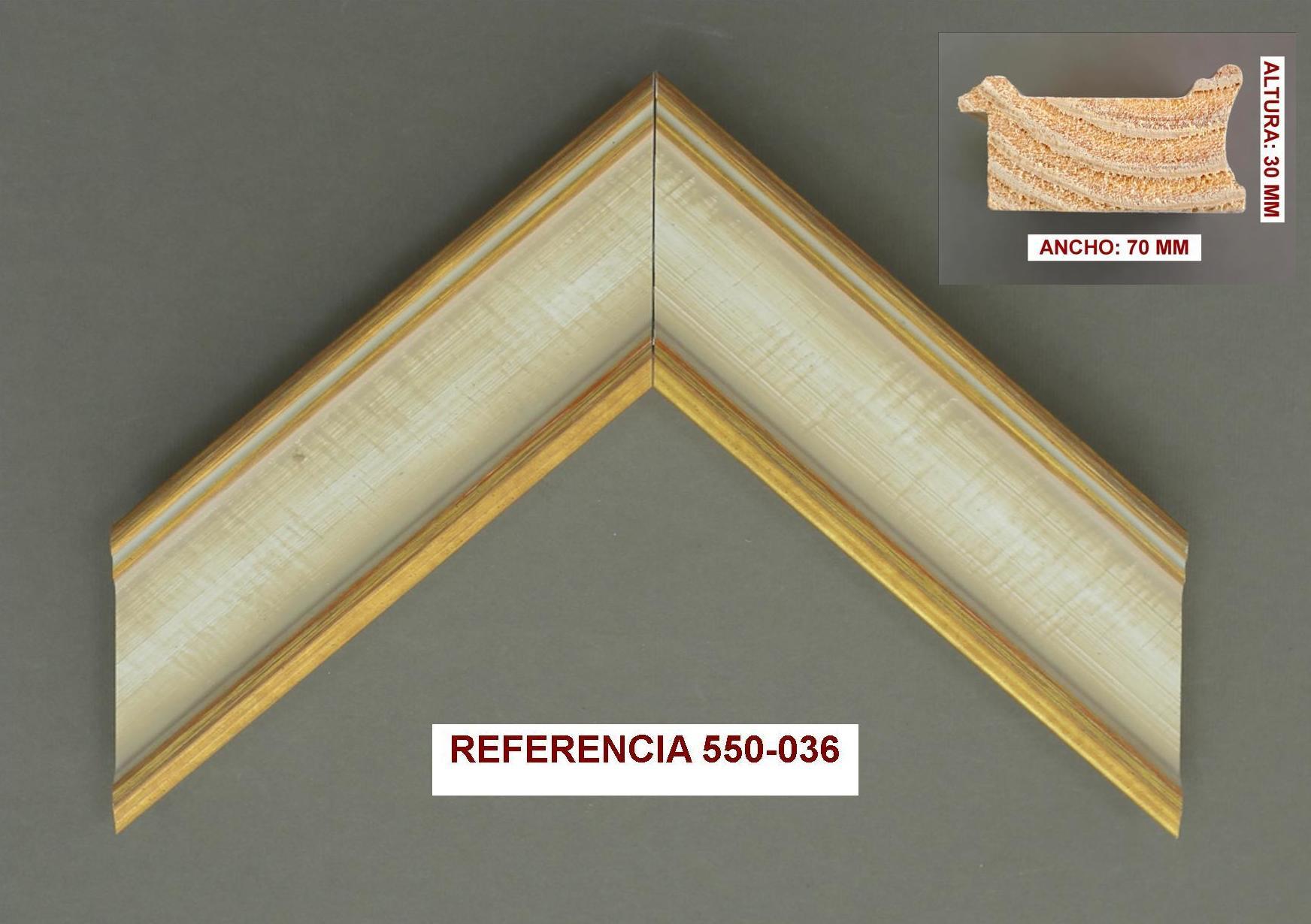 REF 550-036: Muestrario de Moldusevilla