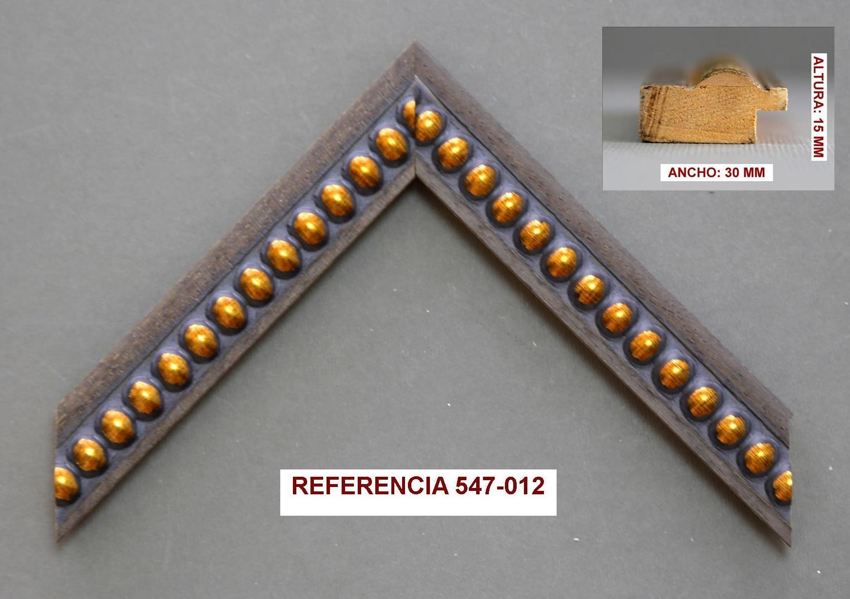 REF 547-012: Muestrario de Moldusevilla