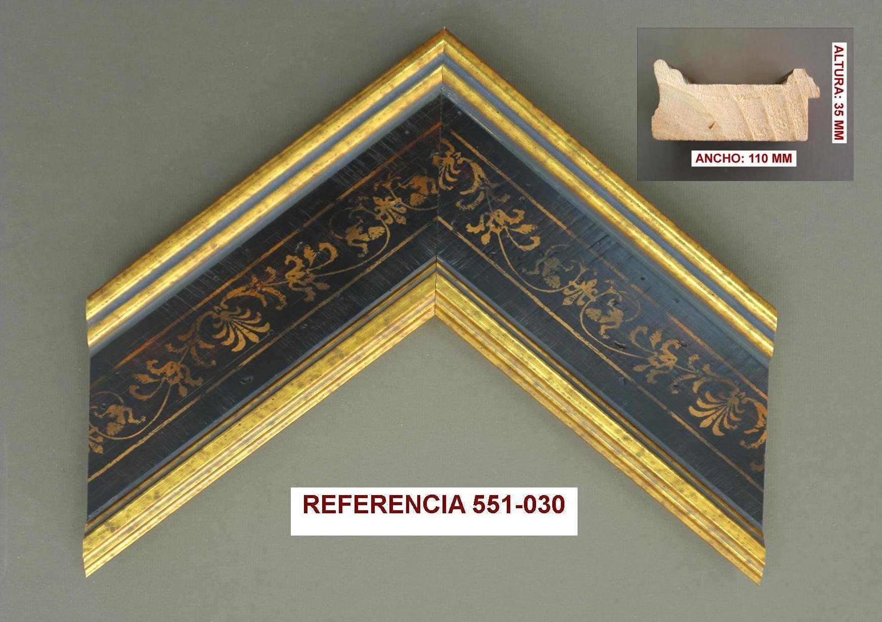 REF 551-030: Muestrario de Moldusevilla