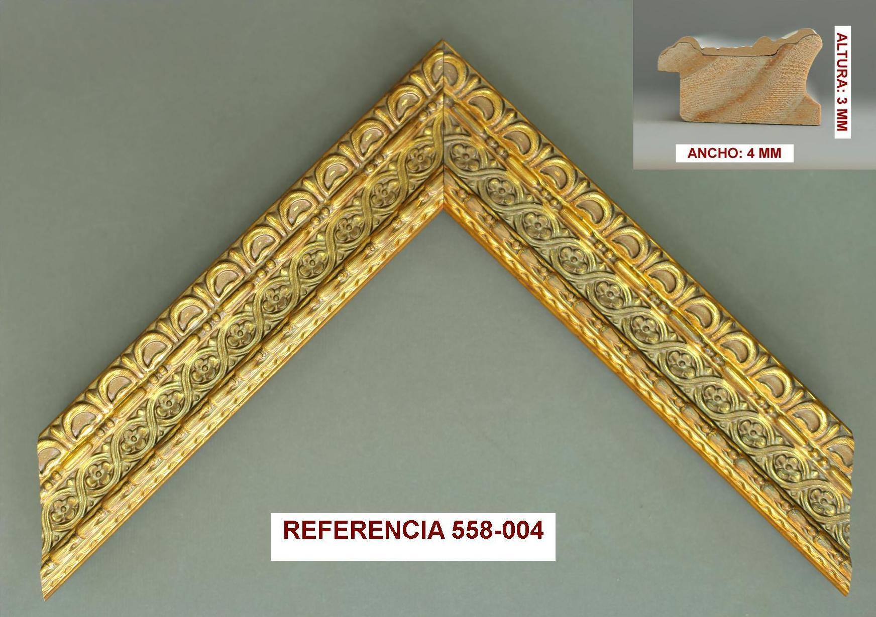 REF 558-004: Muestrario de Moldusevilla