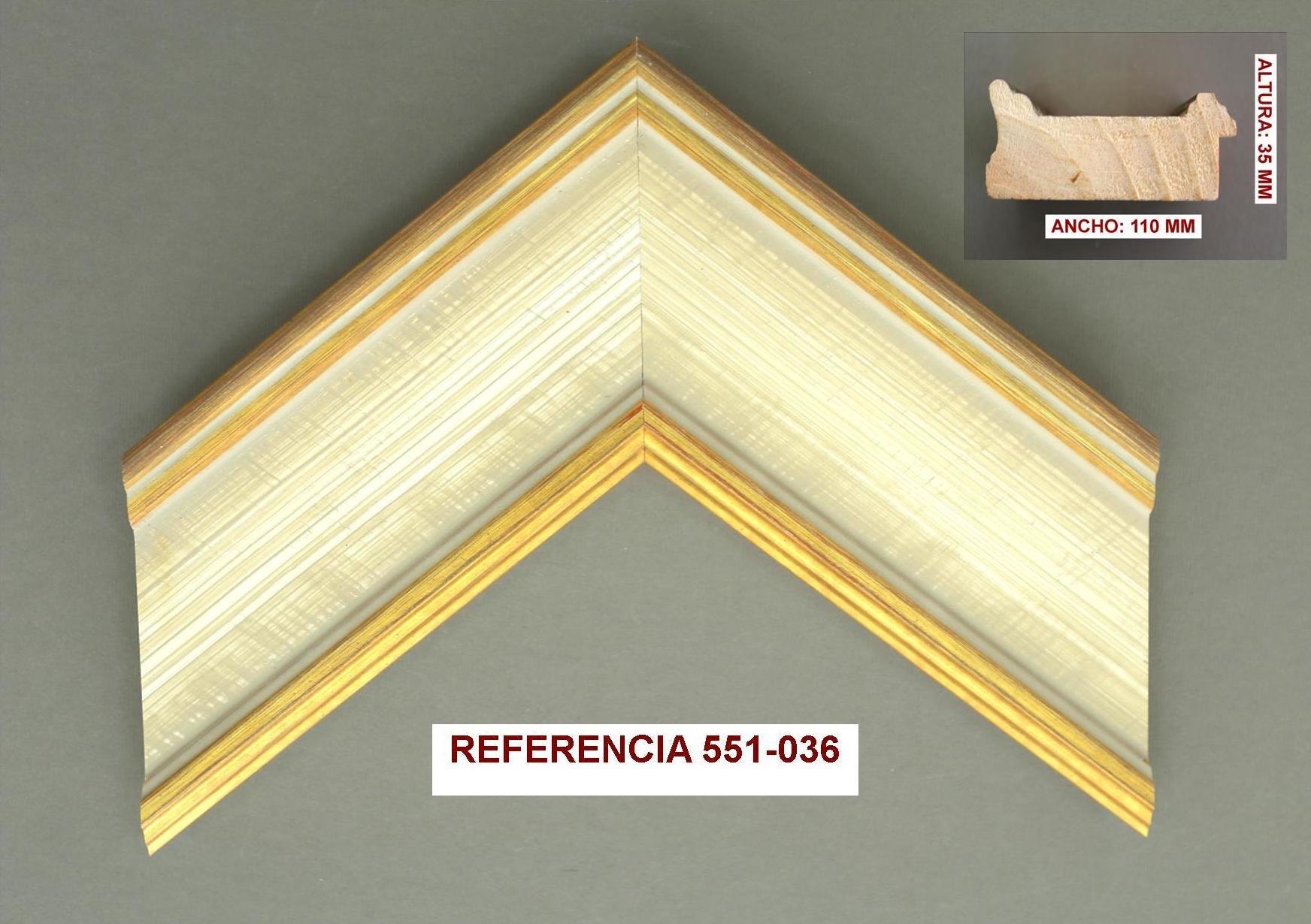 REF 551-036: Muestrario de Moldusevilla
