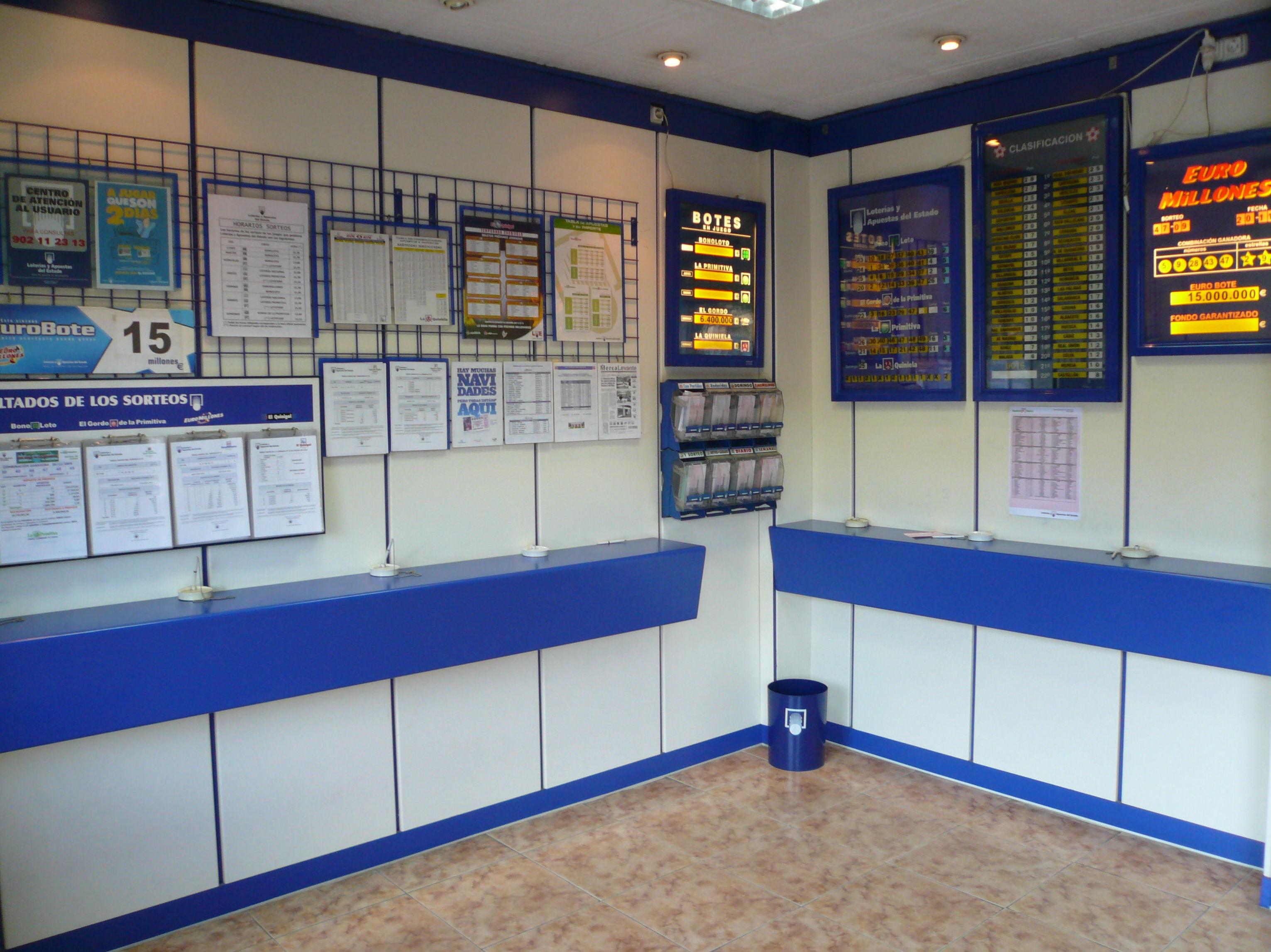 Administraciones de lotería en Valencia