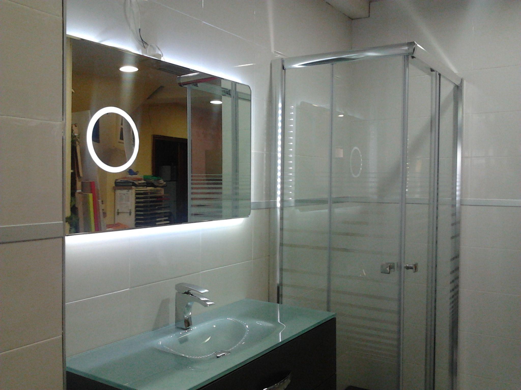 Composición mueble de baño
