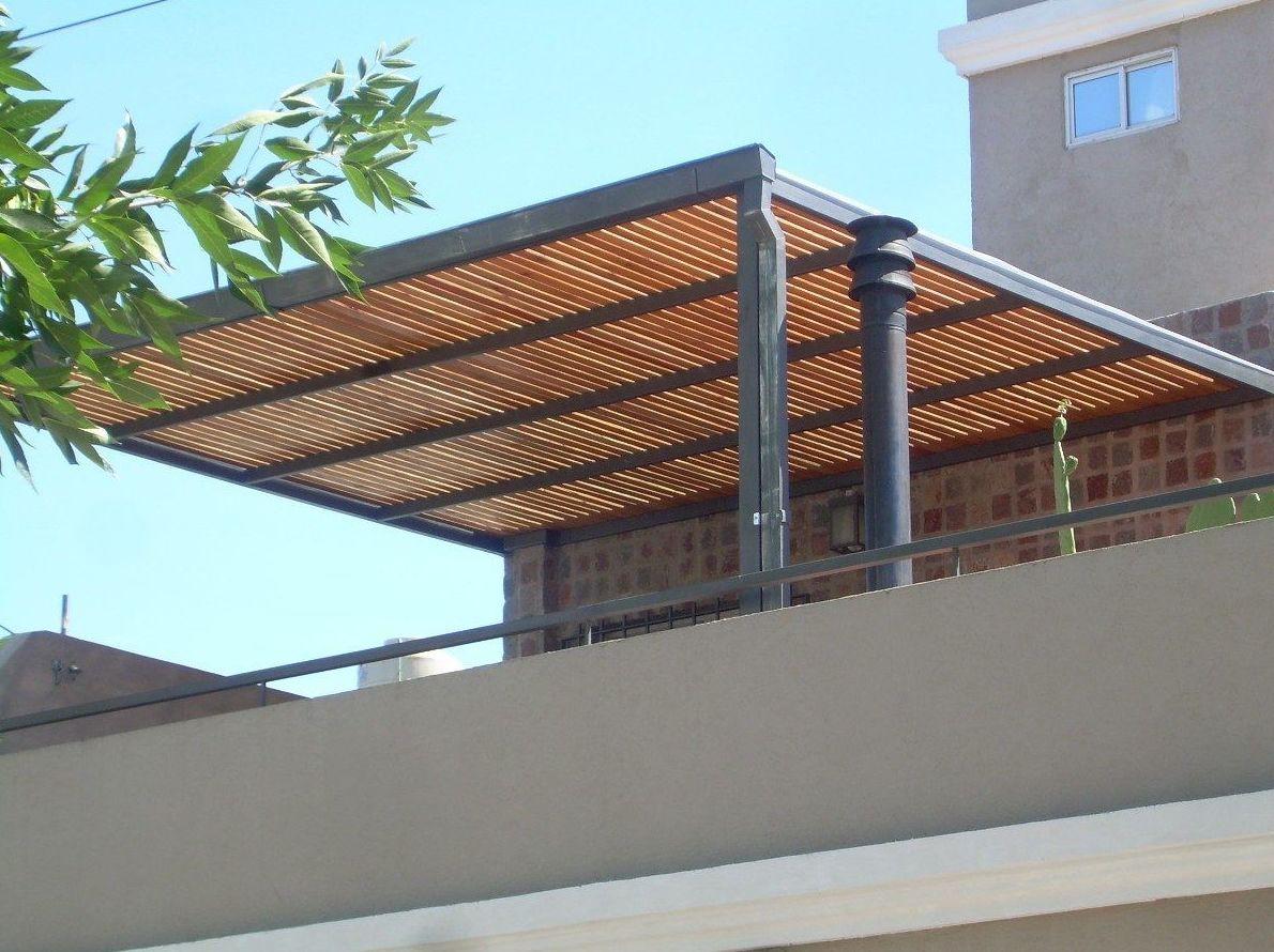 Prgolas metlicas zinka pergolas de madera y metalicas for Terrazas metalicas