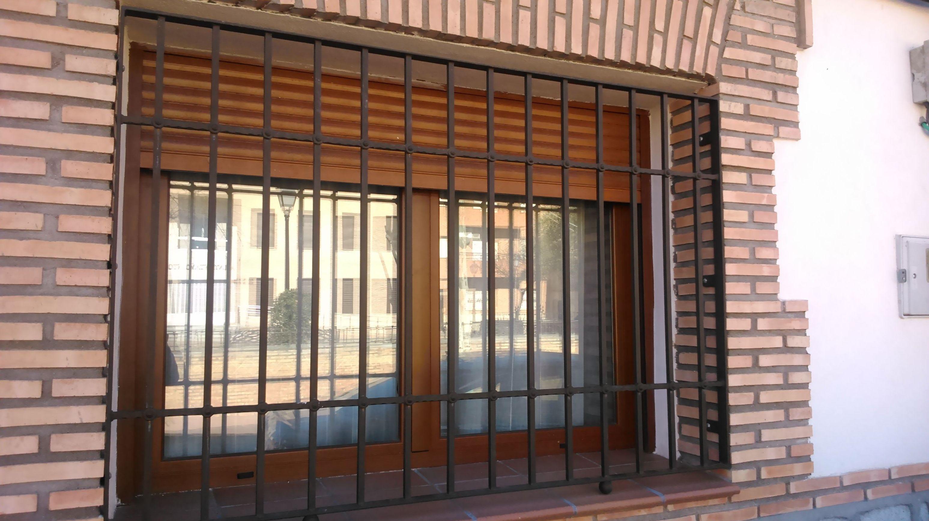 Rejas exteriores servicios y productos de cerrajer a - Rejas exteriores ...