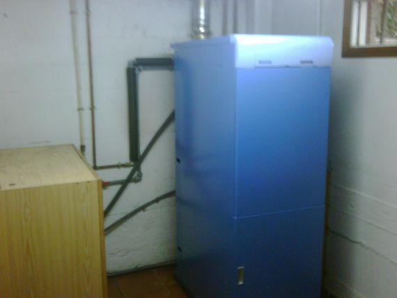 Caldera condensación Ister en Beade
