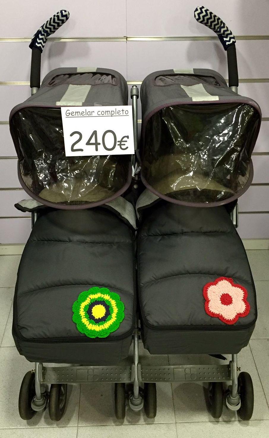 Silla de paseo gemelar twin techno maclaren 0m cat logo for Cochecitos maclaren precios